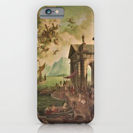Ulysses Farewell to Penelope Seaport Landscape by Rex Whistler iPhone Case