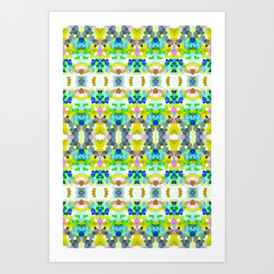 Pixel Perfection Art Print