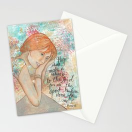 Return by patsy paterno Stationery Cards