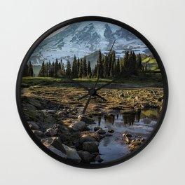Mazama Ridge Trail Wall Clock