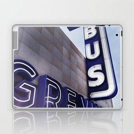 GREYHOUND BUS STATION COLOR Laptop & iPad Skin