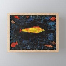 Paul Klee The Goldfish Framed Mini Art Print