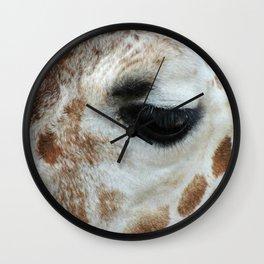 Beautiful Lashes Wall Clock