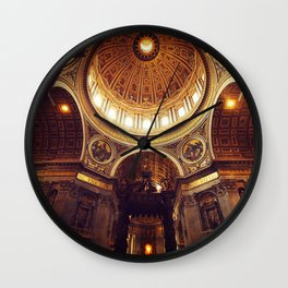 Saint Peter's Basilica  Wall Clock