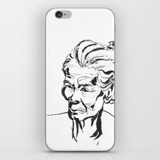 Old women iPhone & iPod Skin