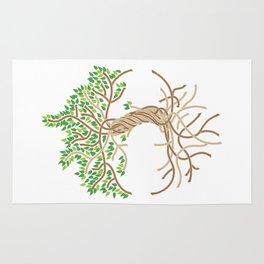 Rope Tree of Life. Rope Dojo 2017 white background Rug