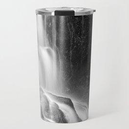 Avalon Falls - Black & White Travel Mug