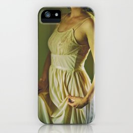a vintage night iPhone Case