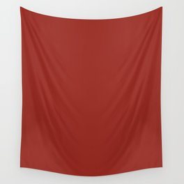 Autumn red Wall Tapestry