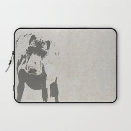 CURIOUS WEIMARANER Laptop Sleeve