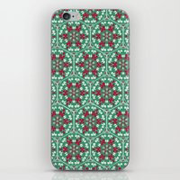 honeycomb iPhone & iPod Skins featuring Honeycomb by Paula Belle Flores