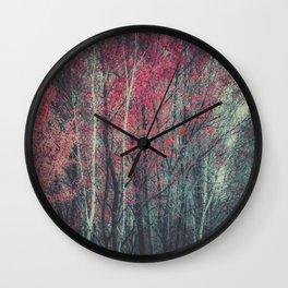 Still Falling Wall Clock