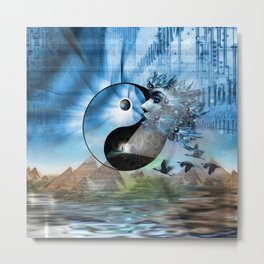 We are Symbols of Light Metal Print