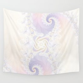 Beautiful Wedding Dress Fractal for the Princess of Pearls Wall Tapestry