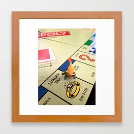 Game Night Framed Art Print