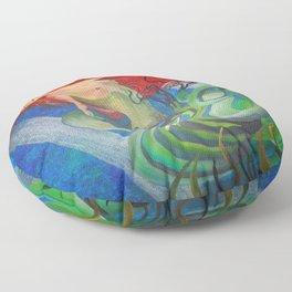 Enchanted Mermaid Floor Pillow