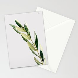 GREEN 3 Stationery Cards
