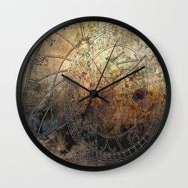 Ancient Astrology Clock Wall Clock