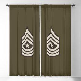 Sergeant Major (Brown) Blackout Curtain