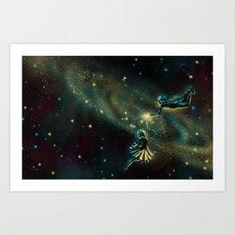 The Space Between Us Art Print