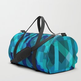 abstract composition in blues Duffle Bag