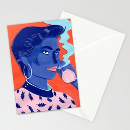 MEET ME AT THE POOL 5 Stationery Cards