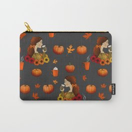 Pumpkin Spice Carry-All Pouch