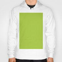 android Hoodies featuring Android Green by List of colors