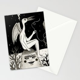 Scissors, String and Solitude  Stationery Cards
