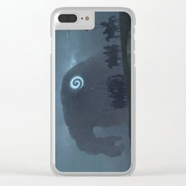 nope. wrong way, turn around Clear iPhone Case