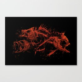 red fishes Canvas Print
