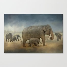 Refugees Canvas Print