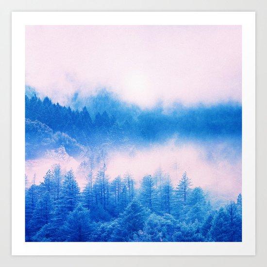 Pastel vibes 03 O -P Art Print