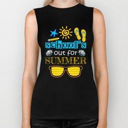 Schools Out For Summer Biker Tank