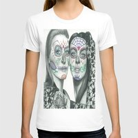 lindsay lohan T-shirts featuring Meryl Streep and Lindsay Lohan  by Jimmy Lee