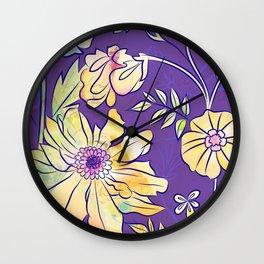 Francella Floret Wall Clock
