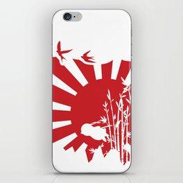 Penguin Bushido iPhone Skin