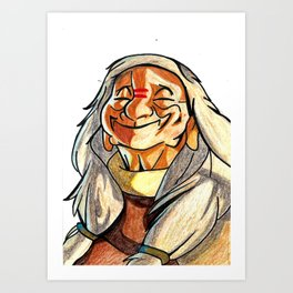 Nana-Brother Bear Art Print