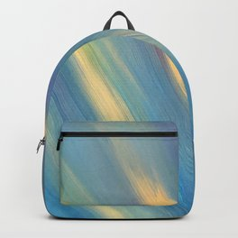 Blue with Gold Streaks Backpack