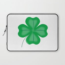 Lucky Four Leaf Shamrock Laptop Sleeve
