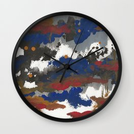 clouds_september Wall Clock