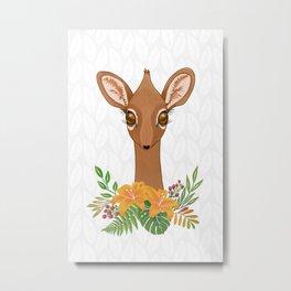 Dik - Dik Baby Antelope Metal Print