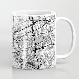 Dortmund Map Gray Coffee Mug