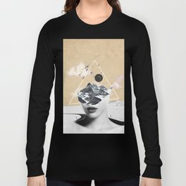 collage art / Wild Nature Long Sleeve T-shirt