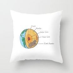 What Really Makes The World Go Round Throw Pillow