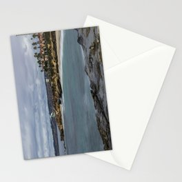 Casa and Wipeout Beaches, La Jolla, California Stationery Cards