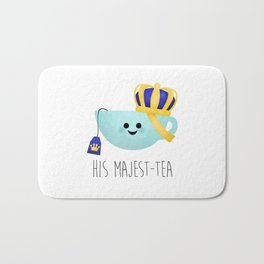 His Majest-tea Bath Mat