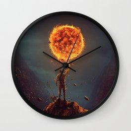 Escanor Wall Clock