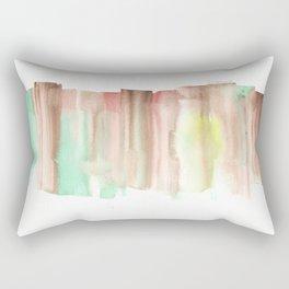 [161228] 24. Abstract Watercolour Color Study|Watercolor Brush Stroke Rectangular Pillow