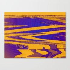 Digital Died/Mustard Jam Canvas Print